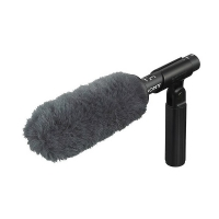 Sony ECM-VG1 (ECMVG1) Shotgun Electret Condenser Microphone c/w Windshield Kit