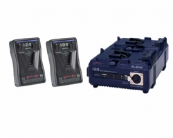 IDX EP-9/2 2x ENDURA-HL9 Power Package (PowerLink), Sequential Charger (60W)