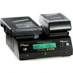 Anton Bauer DUAL 2722 Simultaneous, two position Power Charger with LCD and 70 watt power supply